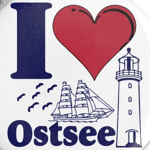 i Love Ostsee Buttons & Anstecker - Buttons groß 56 mm