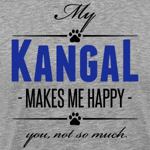 My Kangal makes me happy - Männer Premium T-Shirt