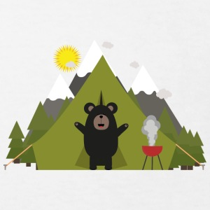 Grizzly bears camping Shirts - Kids' Organic T-shirt