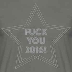 Fuck You 2016 T-shirts - Herre-T-shirt