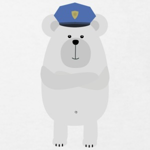 Ours polaire police Tee shirts - T-shirt Bio Enfant
