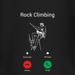CLIMBING CALLS! Baby Long Sleeve Shirts - Baby Long Sleeve T-Shirt
