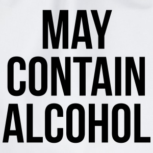 May Contain Alcohol Funny Quote Tasker & rygsække - Sportstaske