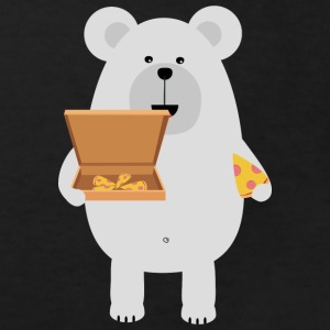 Eat polar bear, pizza Shirts - Kids' Organic T-shirt