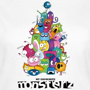My favourite mOnsterz - T-shirt Femme