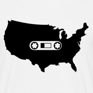 American Cassette Tape - Tshirt - Men's T-Shirt