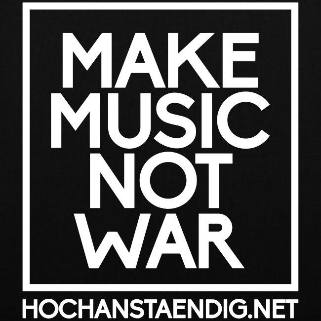 Make Music Not War Beutel