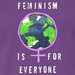 Feminism is for Everyone - Men's Premium T-Shirt