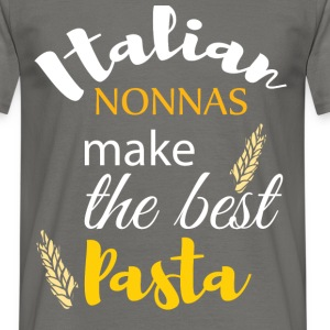 Italian nonnas make the best pasta - Men's T-Shirt