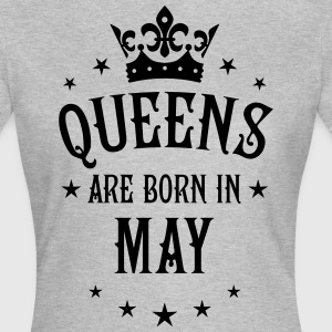 Queens are born in May Crown Legends Queen T-Shirt - Frauen T-Shirt