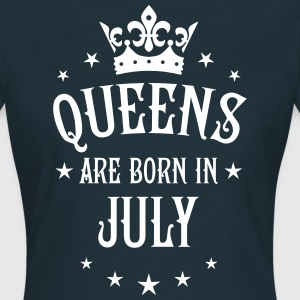 Queens are born in July Crown Legends Queen Shirt - Frauen T-Shirt