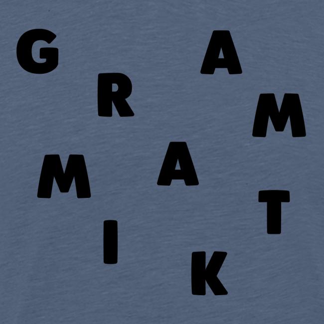 Grammatik - T-shirt (unisex)
