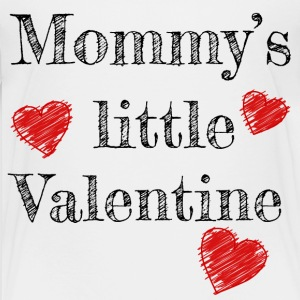Valentine's Day Mommy's Little Valentine - Børne premium T-shirt