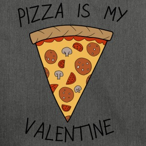 Anti-Valentinstag Pizza Is My Valentine Humor - Schultertasche aus Recycling-Material