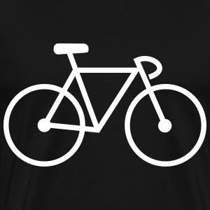bike , Bicycle, cycling T-shirts - Herre premium T-shirt