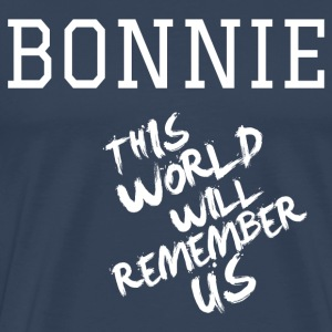 Valentine's Day Matching Couples Bonnie Slogan - Men's Premium T-Shirt