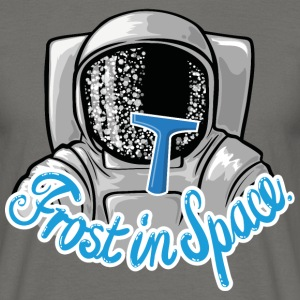 Graphite grey Frost in Space Astronaut T-Shirts - Men's T-Shirt