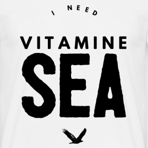 I NEED VITAMINE SEA T-shirts - Herre-T-shirt