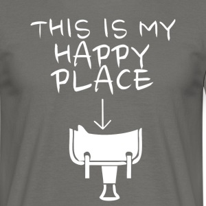 Happy Place Western T-Shirts - Männer T-Shirt