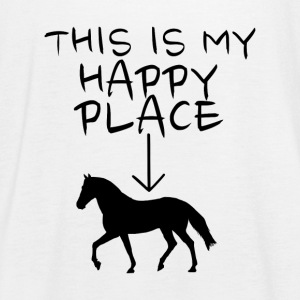 Happy Place Horse Tops - Frauen Tank Top von Bella