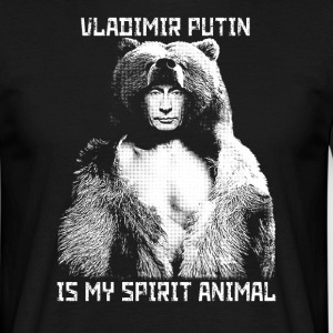 Vladimir Putin is my spirit animal - Men's T-Shirt