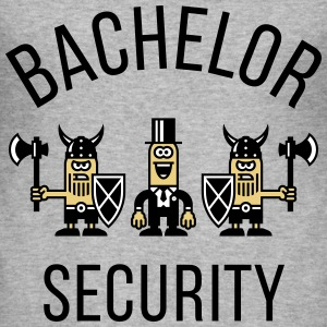 Bachelor Security Vikings (Stag Party / POS) T-Shirts - Men's Slim Fit T-Shirt