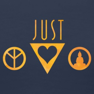 Peace, Love and  hipster design T-Shirts - Frauen Premium T-Shirt