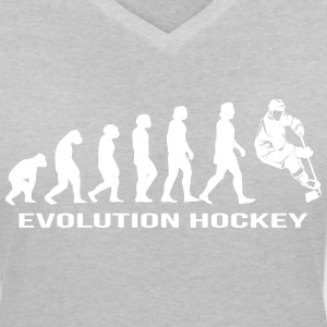 Evolution hockey ishockey T-shirts - T-shirt med v-ringning dam