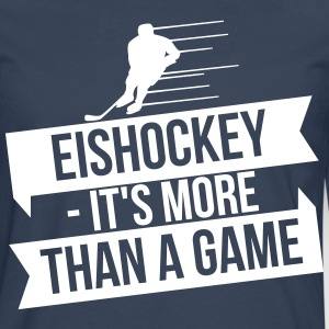 Eishockey - It's more than a game Manga larga - Camiseta de manga larga premium hombre