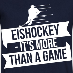 Eishockey - It's more than a game Tee shirts - T-shirt Homme col V