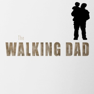 THE WALKING DAD - Tasse bicolore