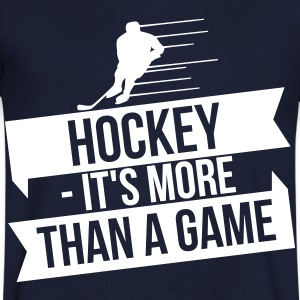hockey - It's more than a game T-shirts - T-shirt med v-ringning herr