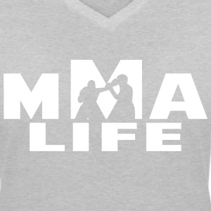 MMA LIVE T-Shirts - Women's V-Neck T-Shirt