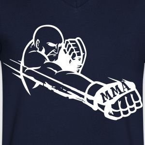 MMA Fighter 2 Tee shirts - T-shirt Homme col V