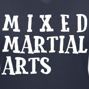 Mixed Martial Arts2 T-Shirts - Women's V-Neck T-Shirt