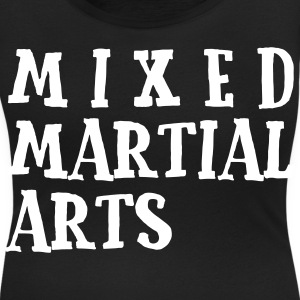Mixed Martial Arts2 T-Shirts - Women's Scoop Neck T-Shirt