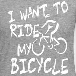 I want to ride my bicycle Long Sleeve Shirts - Women's Premium Longsleeve Shirt