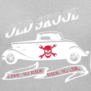 live to ride ride to live T-shirts - T-shirt med v-ringning dam