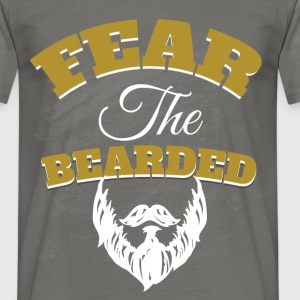 Fear the bearded - Men's T-Shirt