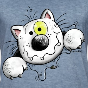 Crazy Cat T-Shirts - Men's Vintage T-Shirt