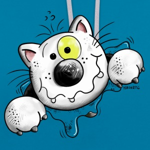 Crazy Cat Sweat-shirts - Sweat-shirt contraste