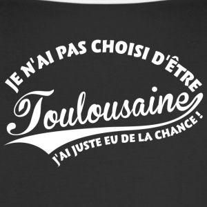 Toulousaine Chanceuse Tee shirts - T-shirt contraste Femme