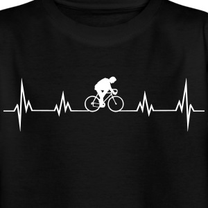 Heartbeat bike Shirts - Teenage T-shirt