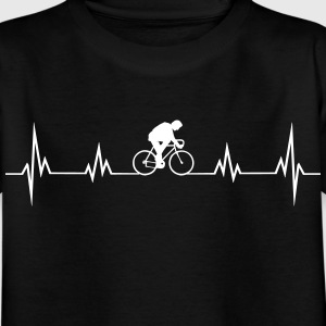 Heartbeat bike Shirts - Kids' T-Shirt