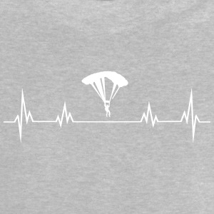 Heartbeat paragliding Baby Shirts  - Baby T-Shirt