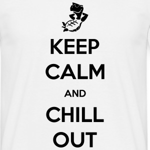 keep calm and chill out Tee shirts - T-shirt Homme