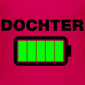 Dochter batterij vol Shirts - Teenager Premium T-shirt