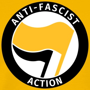 Anti-Fascist Action T-shirts - Premium-T-shirt herr