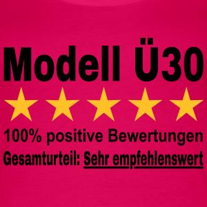 """Geburtstag T-Shirts mit """"Modell Ü30"""""""