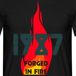 1987 FORGED - Men's T-Shirt